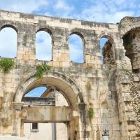 The Silver Gate in Split, Croatia.