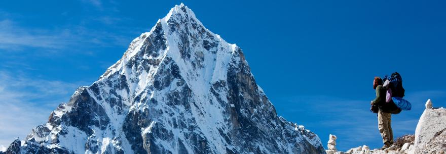 Nepal is home to Mt. Everest, the tallest mountain in the world.
